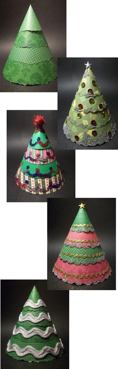 things to make and do make a cone christmas tree