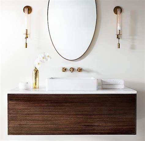 Rh Modern Bathroom Lighting by Rh Modern S Fontanelle Single Sconce Evoking 1940s