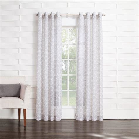 Kohls Semi Sheer Curtains by Home Classics Casbah Semi Sheer Curtain From Kohl S