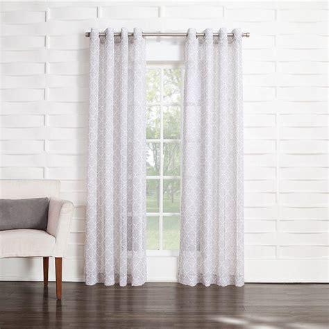 Kohls Semi Sheer Curtains home classics casbah semi sheer curtain from kohl s