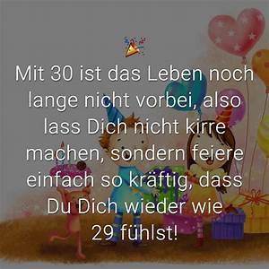 Geburtstagssprüche 30 Lustig Frech : gl ckw nsche zum 30 geburtstag beliebt lustig kreativ ~ Frokenaadalensverden.com Haus und Dekorationen