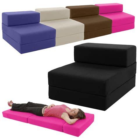 56 Kids Folding Bed Chair Children039s Wipe Clean