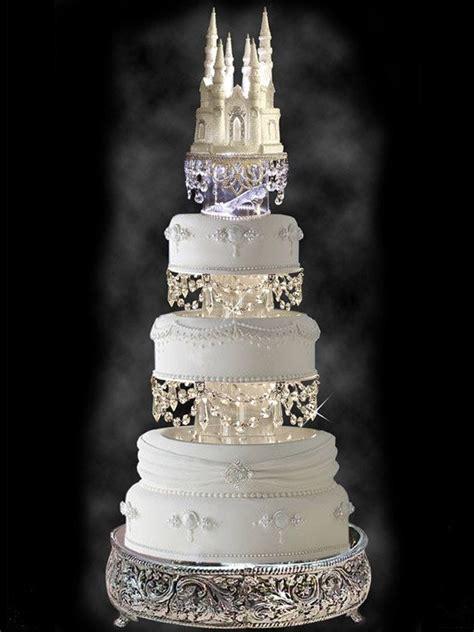 castle wedding cake cinderella castle cake topper wedding fairytale with
