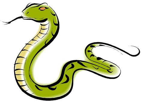 Cute Snake Cartoon Royalty Free Vector Image