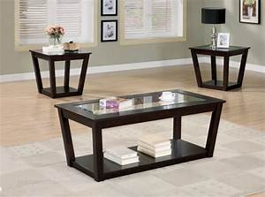 coffee table affordable end table sets gallery end table With glass coffee table set of 3
