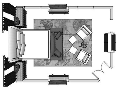 Spectacular Master Bedroom Suite Layouts by Best 25 Bedroom Furniture Layouts Ideas On