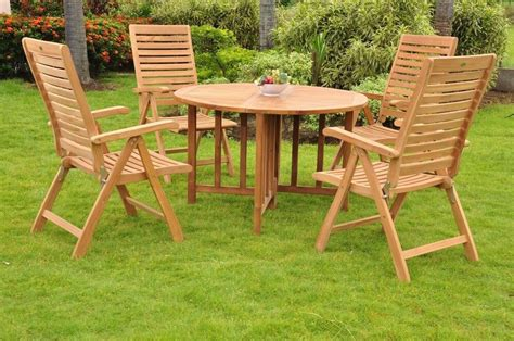 Stores That Sell Outdoor Furniture by 5 Pc Dining Teak Set Garden Outdoor Patio Furniture