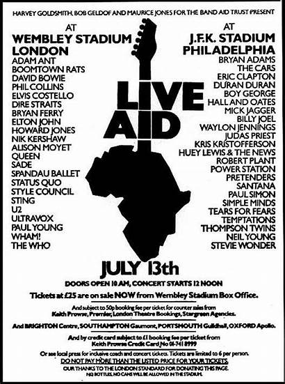 Aid 1985 July Planet Bands Queen Rock