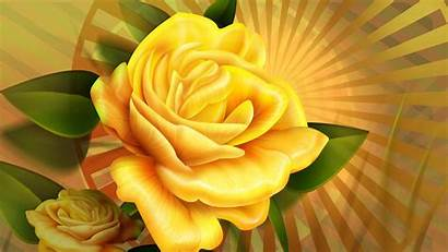 Rose Gold Yellow Backgrounds Roses Wallpapers Desktop