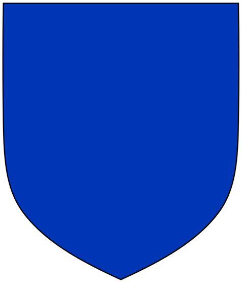 File:Azure Heraldic Shield.svg - Wikimedia Commons