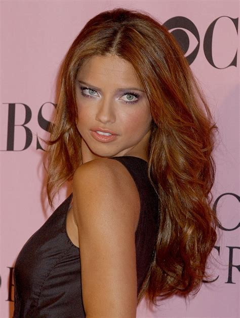 celebrities hairstyles     adriana lima