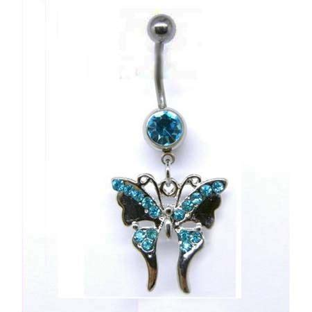 belly rings belly rings  sale wholesale butterfly