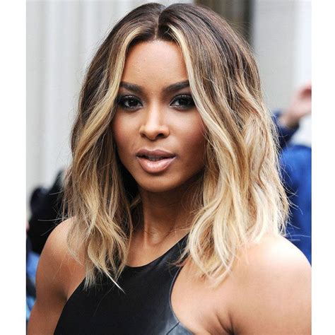 Ciara Hairstyle by Ciara Hairstyle Ombre Wig Pixie Wig