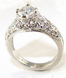 15 photo of vintage style wedding rings for women With vintage look wedding rings