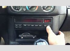 how to set the clock time and date bmw e36 316i YouTube