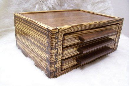 double double dovetail jewelry box   drawers