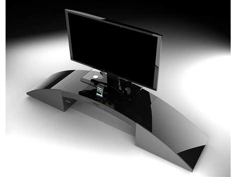 canapé leclerc meuble tv home cinéma intégré decibel noir ou blanc
