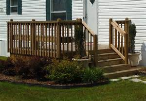 Mobile Home Outdoor Steps