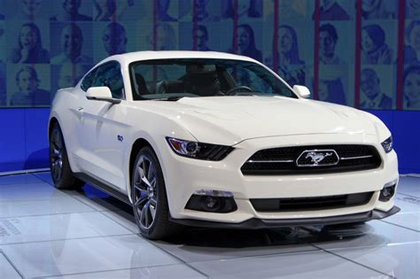 2015 Ford Mustang 50 Year Limited Edition Debuts At 2014