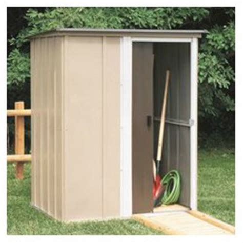 Arrow Shed Door Assembly by Arrow Shed Bw54 Brentwood 5 By 4 Steel Storage