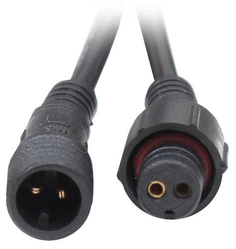 niedervolt stecker 2 polig wasserdichte steckverbindung 2 3 4 polig stecker kupplung wasserdicht 3a boot ebay