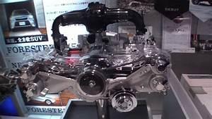 Subaru Dit Fa20 Engine  U0026 Cvt Transmission Cutaways