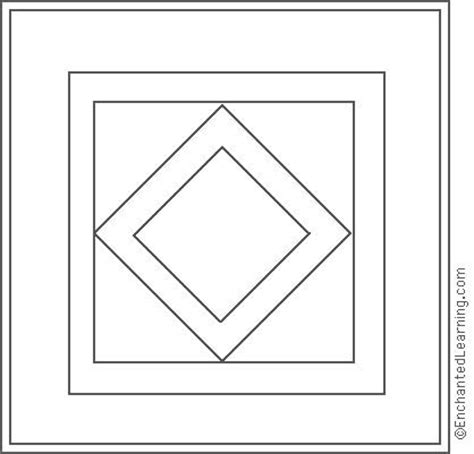 gallery quilt coloring page  kids