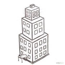 gallery drawing simple buildings drawings art gallery