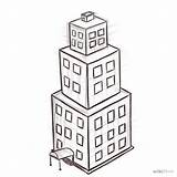 Drawing Easy Drawings Architecture Building Draw Buildings Architectural Sketch Step Outline Construction Presentation Landscape Credit Larger Very Superiordrawing Wikihow sketch template
