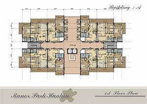 Apartment, Complex, Building, Plans, House