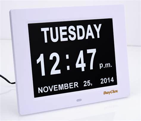 digital calendar day clock gadget blog