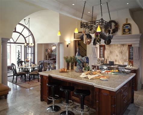 Italian jewelry design of paramus, inc. Barton Creek Italian Villa Kitchen - Mediterranean - austin - by Susie Johnson Interior Design, Inc.