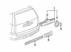 Cadillac Escalade Esv Liftgate Finish Panel