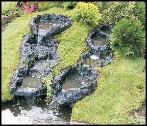 Gartenteich Mit Wasserfall : bachlauf wasserfall module erweiterbar teich bachlaufschale wasserspiel garten bachlauf im ~ A.2002-acura-tl-radio.info Haus und Dekorationen