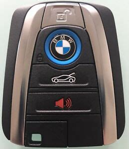 bmw ii remote smart key keyless electric fob   rare ebay