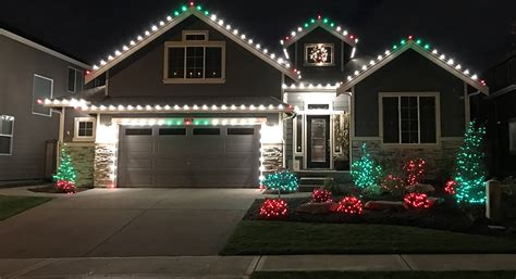 christmas lights for gutters light service renton pressure washing window cleaning and gutter cleaning