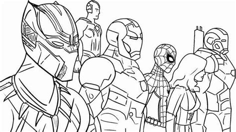 printable avengers coloring pages  kids  adults
