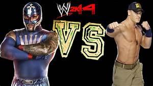 WWE 2K14: Rey Mysterio VS John Cena [FR//HD] - YouTube