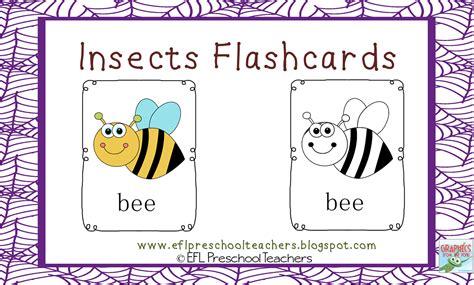 Eslefl Preschool Teachers Insects  Bugs For Preschool Ela
