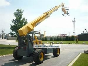 2006 Gehl Rs5 Reach Forklift Telehandler Compact