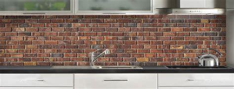 modeles cuisines mobalpa crédence déco briques anciennes rouges de c macredence com