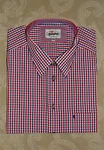 It Denim Size Chart Men 39 S Casual Shirt Blue Red White Plaid Trachten Quelle