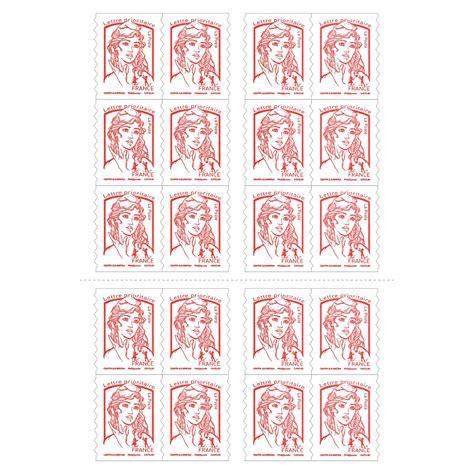 bureau bruneau carnet de 20 timbres poste pour lettre prioritaire 20 g