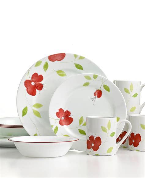 corelle garden paradise dinnerware  macyscom pattern