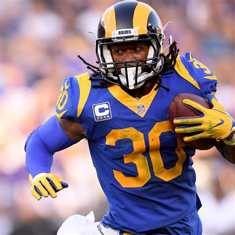 rams todd gurley discusses knee injury recovery mindset