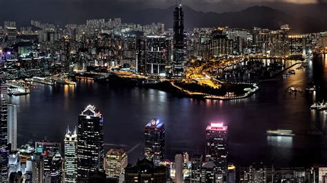 wonderful city night wallpaper   hd windows
