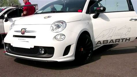 Fiat Abarth Top Gear by Fiat 500 Abarth Revs And Loud Exhaust Sound Top Gear