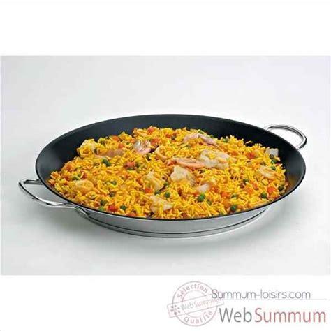 beka cuisine beka plat à paëlla revêtu 36 cm de cuisine dans cuisson du