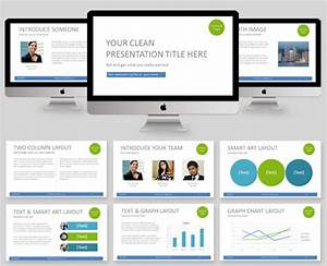 clean powerpoint template professional powerpoint With how to create a presentation template in powerpoint