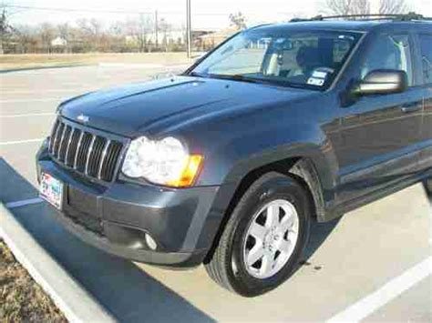 jeep grey blue sell used blue gray 2008 jeep grand cherokee laredo 4x4